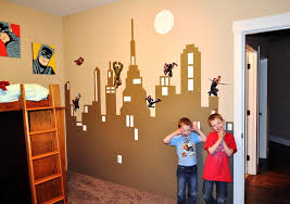 marvel superhero wall decals for kids rooms