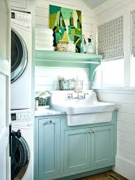 laundry area ideas outdoor room beautifully organized small rooms mini washer and dryer shelves sink in laundry room