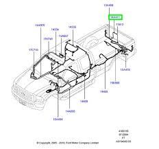 brand new ford f series oem wiring harness to rear camera 8c3z brand new ford f series oem wiring harness