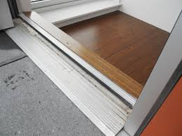 inswing or outswing exterior doors. photos: the two photos above show a high-end out-swing commercial storefront door. this was very exposed but well-engineered. sweep on door locks inswing or outswing exterior doors