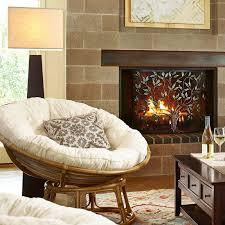 Papasan Chair In Living Room Papasan Natural Chair Bowl Sun Papasan Chair And Natural