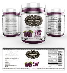 Plum Jam Label Template Getty Layouts