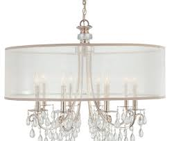 full size of lighting cool white drum shade chandelier 24 beautiful crystal 8 with amazing large