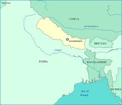 map of nepal Nepal India Map map of nepal, china, india, bagladesh nepal india border map