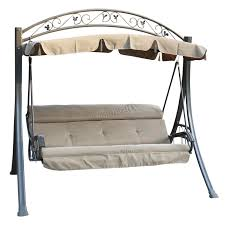 sentinel westwood garden metal swing hammock 3 seater chair bench patio outdoor sc03 sentinel thumbnail 2