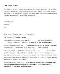 Reliance Offer Letter Job Offer Sample Lytte Co
