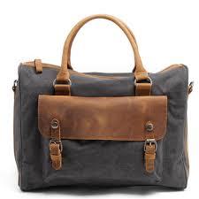 Designer Shoulder Bags Mens Guaranteed Genuine Leathercanvas Mens Bags Famous Brand Designer Men Messenger Bags Shoulder Bags Large Laptop Bag Briefcase
