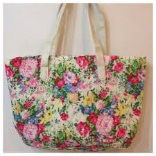 🎉❤ 🎉 😊HP Floral quilted tote bag NEW 🎉❤ 🎉😊HP | Tops ... & HP Floral quilted tote bag NEW ❤️HP Lightweight quilted floral romantic  girlie tote Adamdwight.com