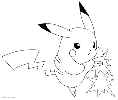 Captivating Picachu Coloring Pages Pictures To Color Color Pages