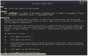 Sample Instruction Manual Template Interesting SCP Linux Securely Copy Files Using SCP Examples