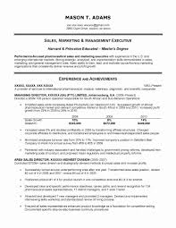 Finance Manager Resume Sample Sales Marketing Resume Format Inspirational Resume Samples 67