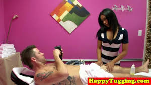 Massage therapist fucks a young guy when his gf dozed off on.