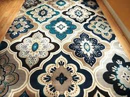 blue and brown rug blue and brown area rugs new modern blue gray brown rug area