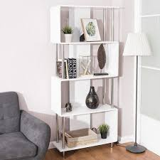 industrial style home office. Home Office Bookcase Organizer Industrial Style 4 Shelf Modern Storage  Display Industrial Style Home Office
