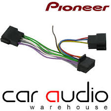 pioneer deh 16 pin replacement car stereo auto radio wiring iso image is loading pioneer deh 16 pin replacement car stereo auto