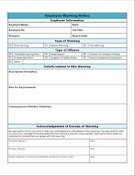 Employee Warning Notice Form Beautiful 13 Best Landlord Tenant ...