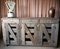 Rustic Kitchen Sideboard Farm Style Sideboard Buffet Pallet Furniture Pinterest