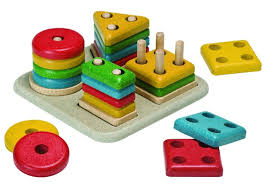 Peg board puzzle \u2013 Plan Toys Preschool Sorting Board Terrific Educational for a Two Year Old - Jellibean Journals