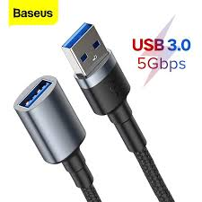 <b>Baseus</b> USB To USB Male To Male Extension Cable Male To ...
