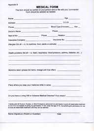 Medical Form In Pdf Medical Form Pdf medical form templates 1