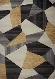 cream gold area rug