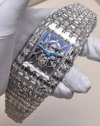 wearing the over 18 000 000 jacob co billionaire watch by jacob co billionaire diamonds watch and the preice is 18 000 000 astonishing astronomical