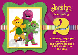 barney party invitation template barney party invitation template free funeral templates free task
