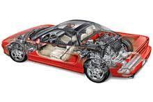 automotive illustration cutaway of acura nsx v engine full cutaway engine specs
