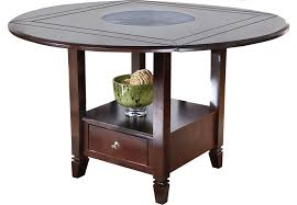 amazing home endearing round counter height table in american drew camden pedestal 919 707r round