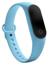 Фитнес-<b>браслет Qumann QSB</b> 08+ Голубой купить недорого в ...
