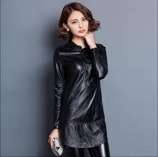 women leather slim mesh bottoming shirt women leather clothing women leather wearing fashion women shirt