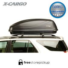 X-Cargo 20 Cu. Ft. Car Top Carrier - Black