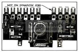 1955 buick wiring diagrams hometown buick 1955 buick fuse block
