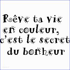 Citation Sur Le Rêve Et La Vie Unique Stickers Muraux Citations