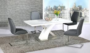 white high gloss table and chairs dining table sets glass dining tables gloss dining tables inside white high