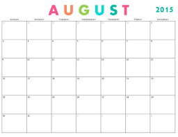 monthly calendar template 2015 monthly calendar template includes august 2015 december 2016 what