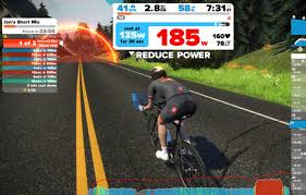 the zwift app allows you to link your turbo trainer with your puter tablet or smartphone so you can pete virtually against other cyclists