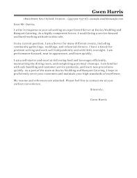 Cover Letter For A Server Cocktail Server Cover Letter Restaurant Server Cover Letter No