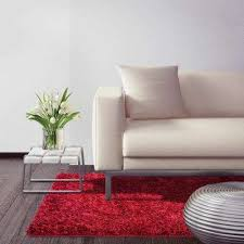 city sheen red 7 ft x 11 ft area rug