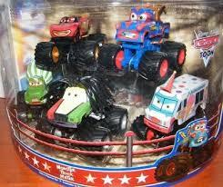 Disney Cars Toon Monster Truck Mater Deluxe Figure Set | #474744756