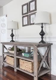 rustic wood furniture ideas. Reclaimed Wood Foyer Table Rustic Decor Ideas Christmas The Lates On Diy Pallet Entryway Furniture C