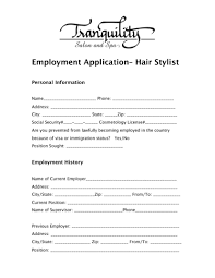 Hair Stylist Job Description Resume Hairstylist Resume Template For Study Sample Of Apprentice 8