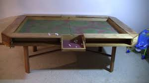 Wooden Game Table Plans Dnd Gaming Table 26