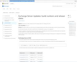 How To Check Current Exchange Server Version Msb365