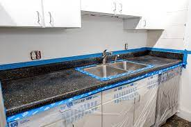 how to resurface laminate countertops