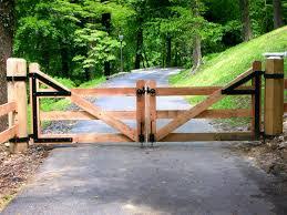 wood farm fence. Wood Board Gate For Equine Farm Fence