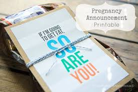 Pregnancy Announcement Printables Craftaholics Anonymous Free Printable To Announce Pregnancy