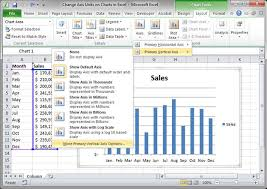 Change Axis Units On Charts In Excel Teachexcel Com