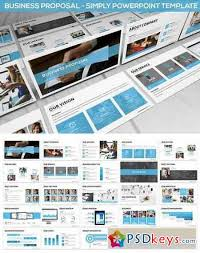 Business Proposal Powerpoint Simply Business Proposal Powerpoint Template Free