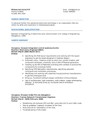 Experienced Engineer Resume Resume For Your Job Application